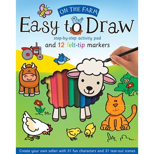 Easy to Draw: On the Farm
