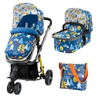 Cosatto Giggle2 Pram and Pushchair- Foxtale