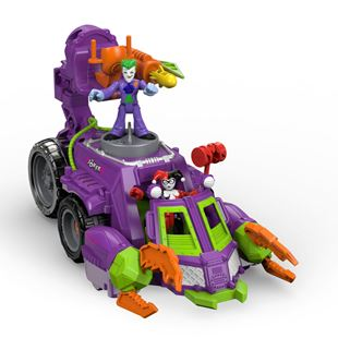 DC Super Friends The Joker & Harley Quinn Battle Vehicle 34.3cm
