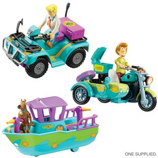 Scooby Doo Mystery Mini Vehicle - Assortment