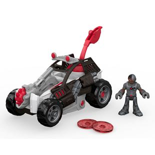 Imaginext Streets Of Gotham City Cyborg & Saw Buggy