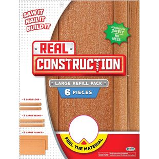 Real Construction Large Refill Pieces
