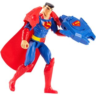 Justice League Superman Armor Blast Action Figure