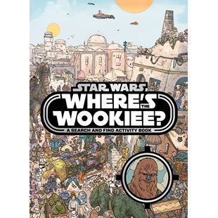 Disney Star Wars Where's the Wookie Search and Find Activity Book