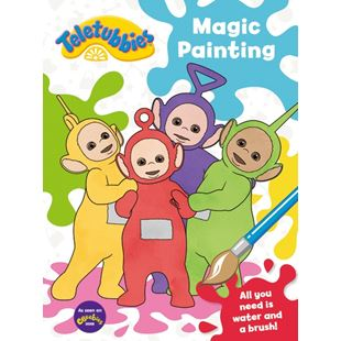 Teletubbbies Magic Painting Activity Book