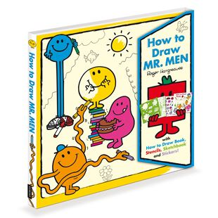 How To Draw Mr Men Activity Book