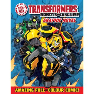 Transformers Robots in Disguise Graphic Novel Book