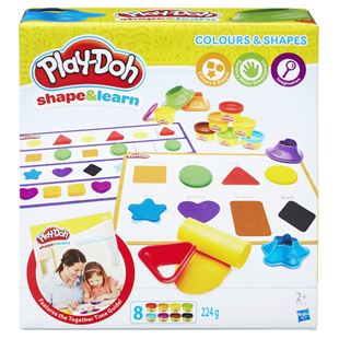 Play-Doh Shape and Learn: Colours and Shapes