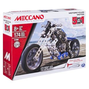 Meccano 5 Model Set Motorcycle