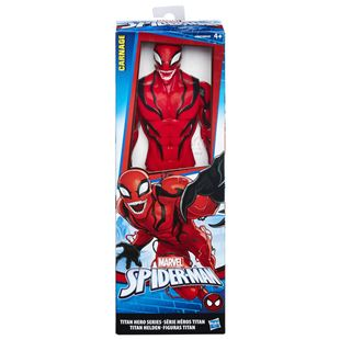 Marvel Spider-Man Titan Hero Series Villains Carnage Figure - Assortment