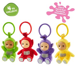 Teletubbies Clip Ons- Assortment