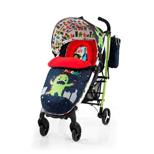 Cosatto Yo2 4 Wheel Stroller Monster Arcade