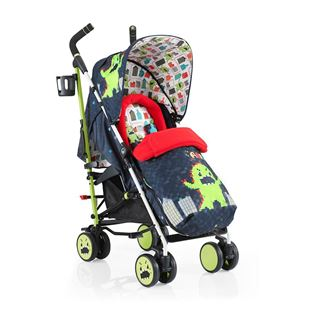Cosatto Supa Lightweight Stroller Monster Arcade