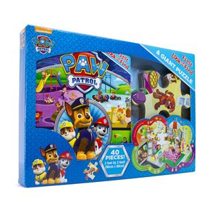 My First Look & Find & Shaped Puzzle Paw Patrol