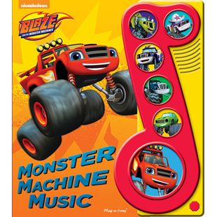 Blaze and The Monster Machines Little Music Note Book