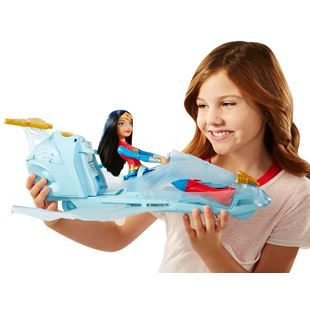 DC Super Hero Girls Wonder Woman & Invisible Jet Dolls