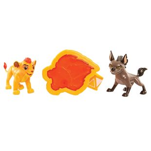 Lion Guard Action Figure 2 Pack with Arm Band Assortment
