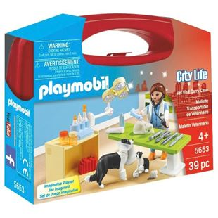 Playmobil Vet Clinic Carry Case 5653