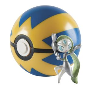20th Anniversary Meloetta & Quick Ball