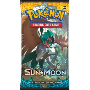 Sun & Moon Booster Pokémon Trading Card - Assortment