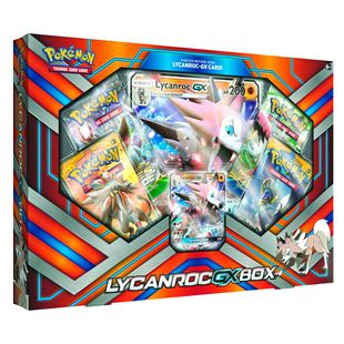 Lycanroc GX Box Pokemon TCG