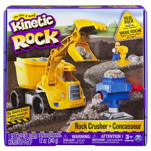 Kinetic Sand Rock Crushin Set