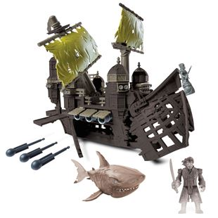 Pirates of the Caribbean Silent Mary Pirate Ship Playset