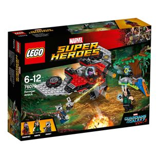 LEGO Marvel Super Heroes Guardians of the Galaxy Ravager Attck 76079
