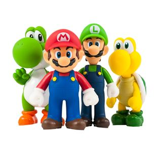 Super Mario 12.5cm Special 4 Pack Collection