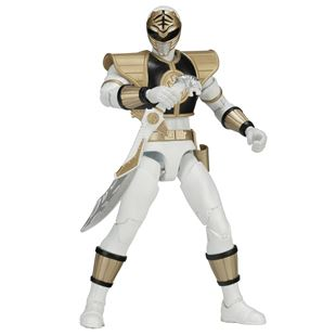 Power Rangers Mighty Morphin Legacy White Power Ranger 16.5cm Figure
