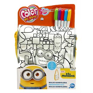 Colour Me Mine Minons Messenger Bag