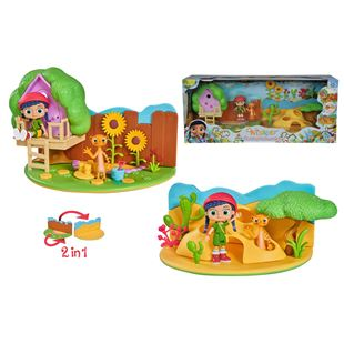 Wissper 2-in-1 Playset Desert World