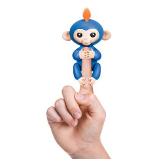 WowWee Fingerlings Blue Baby Monkey