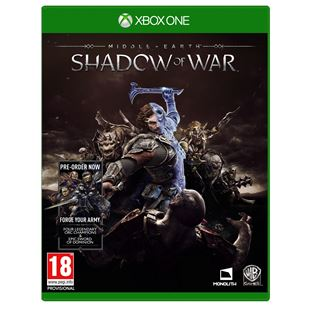 Middle-Earth Shadow of War Xbox One