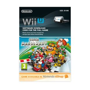 Super Mario Kart Wii U DOWNLOAD CARD