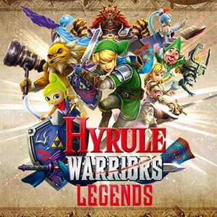 Hyrule Warriors: Legends 3DS DOWNLOAD CARD