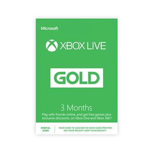 Xbox Live 3 Months Gold Membership Digital Download