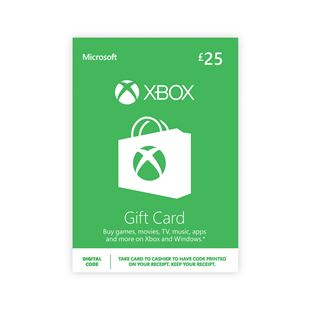 XBOX Live £25 Gold Digital Download