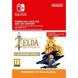 Legend of Zelda: Breath of the Wild Expansion Pass NS Digital Download