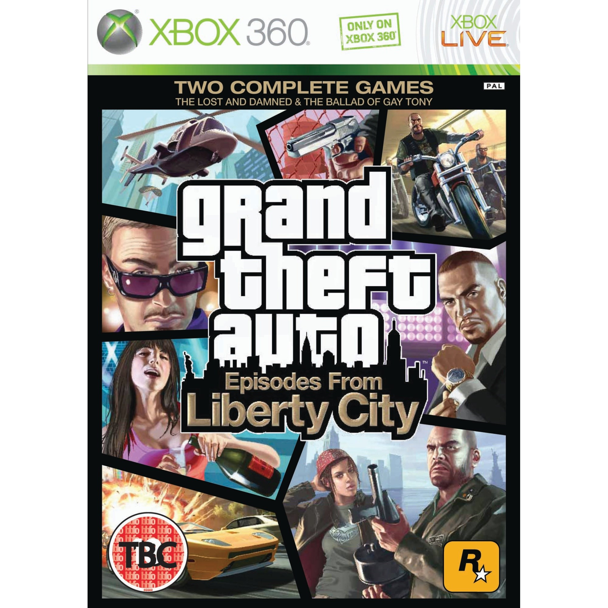GTA Episodes From Liberty City X360
