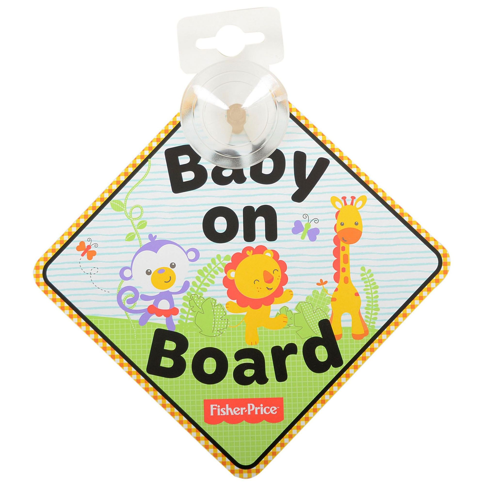 Fisher Price Baby on Board Sign