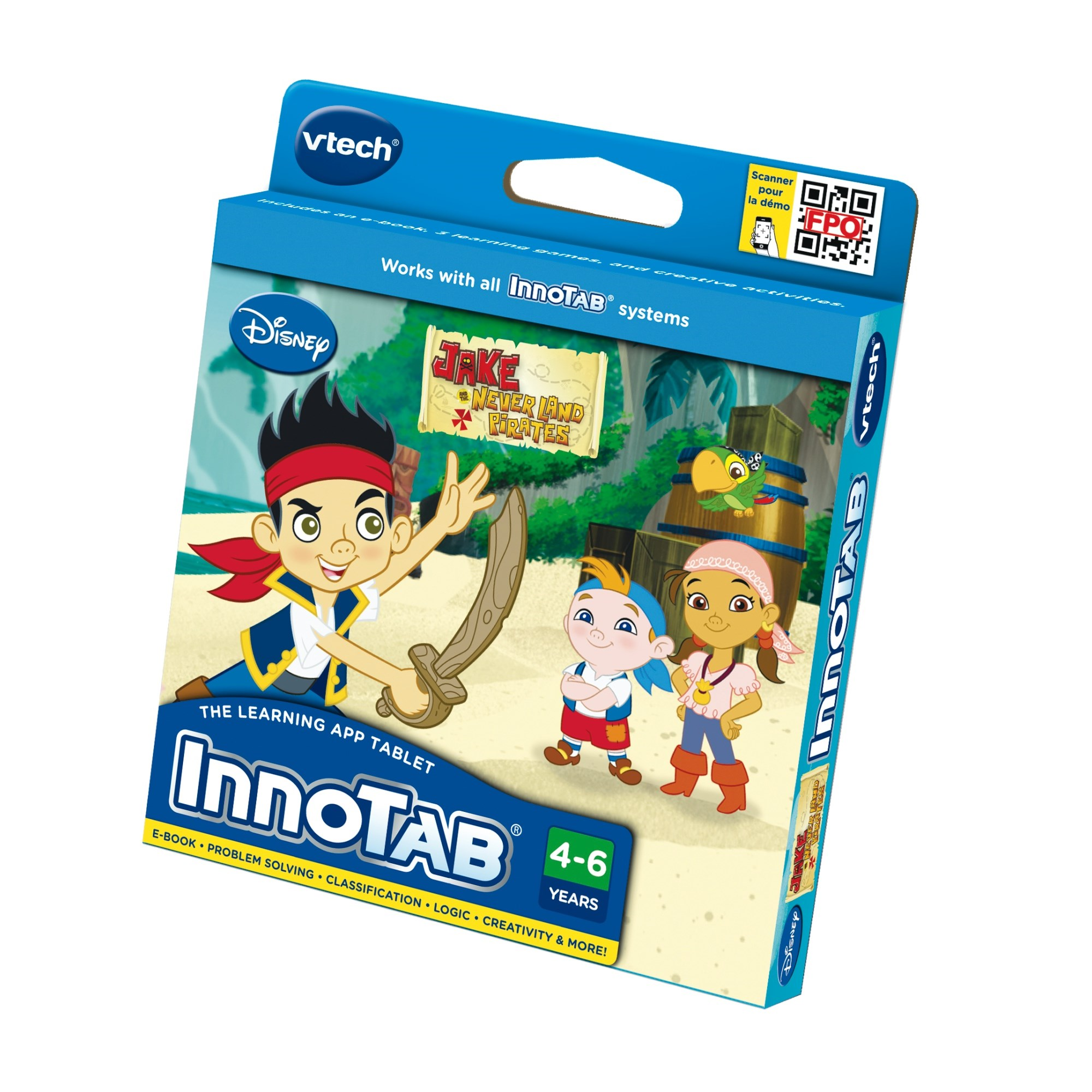 Vtech Innotab Jake and the Never Land Pirates