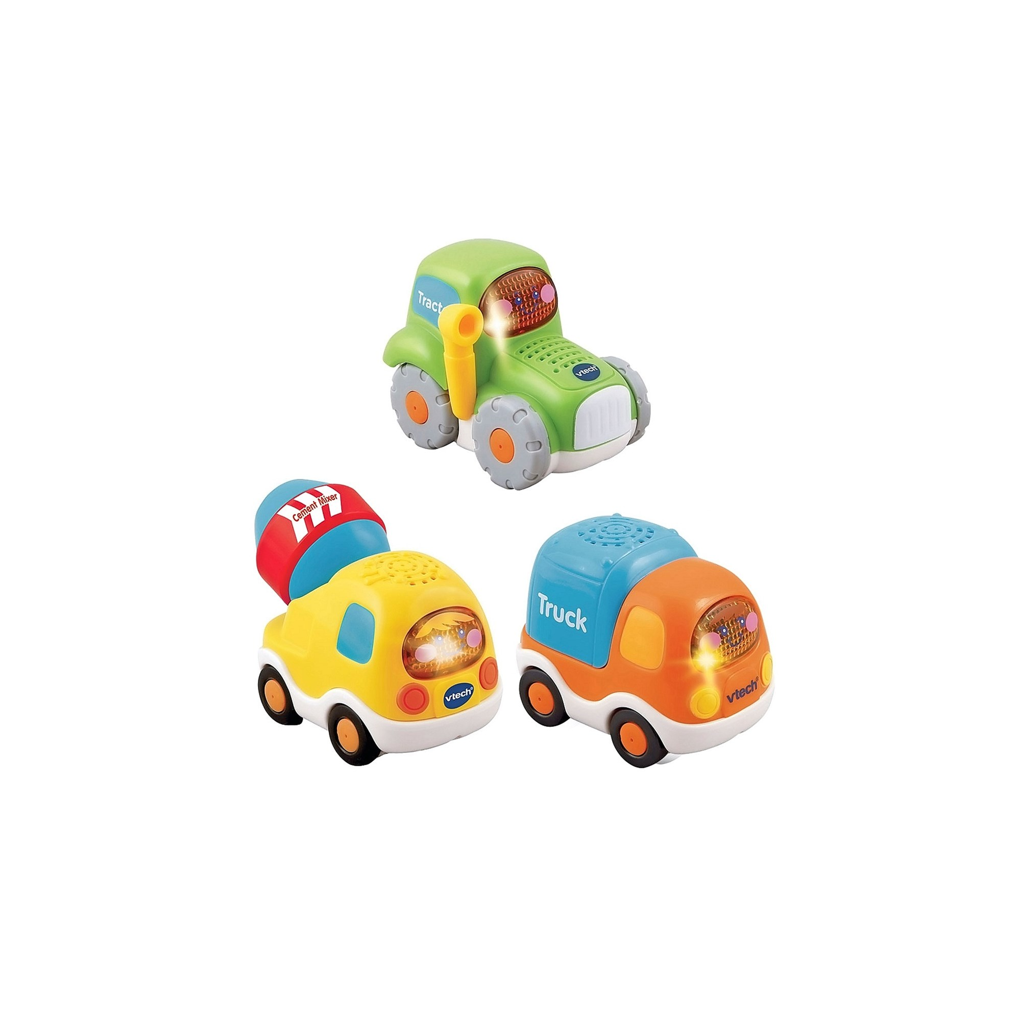 VTech TootToot Drivers 3 Car Pack Construction