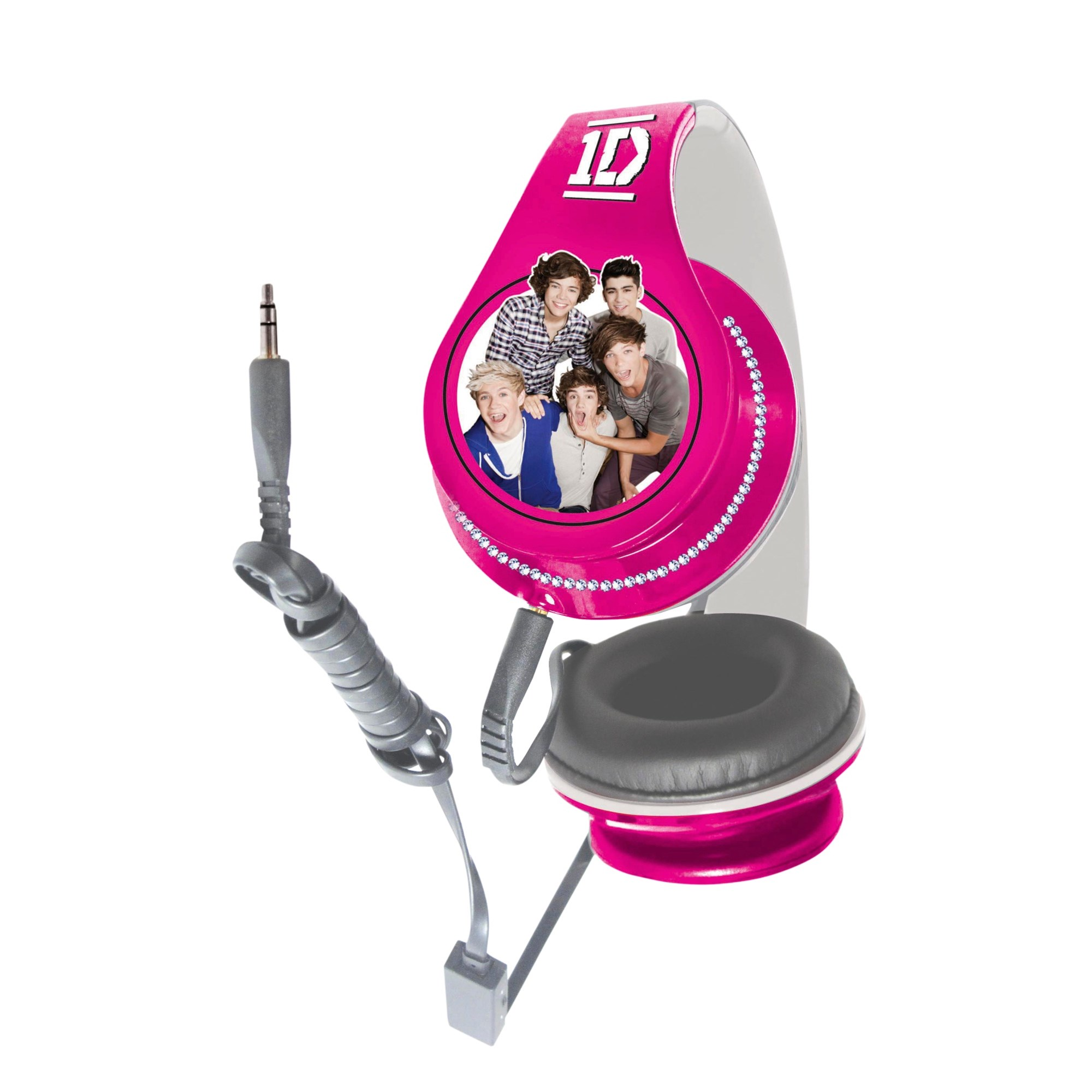 One Direction Headphones Pink & White