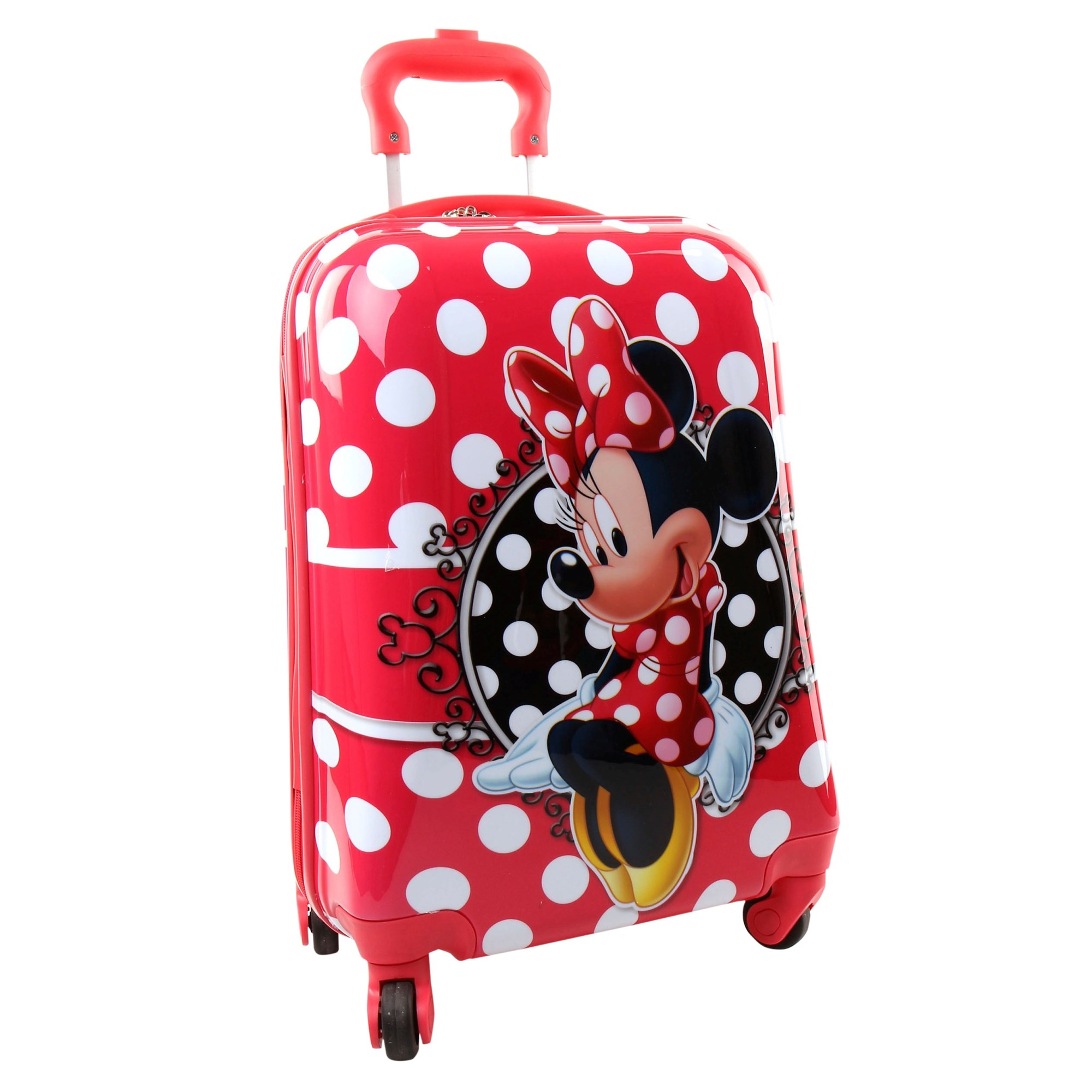 Disney Minnie Mouse Luggage Trolley Case