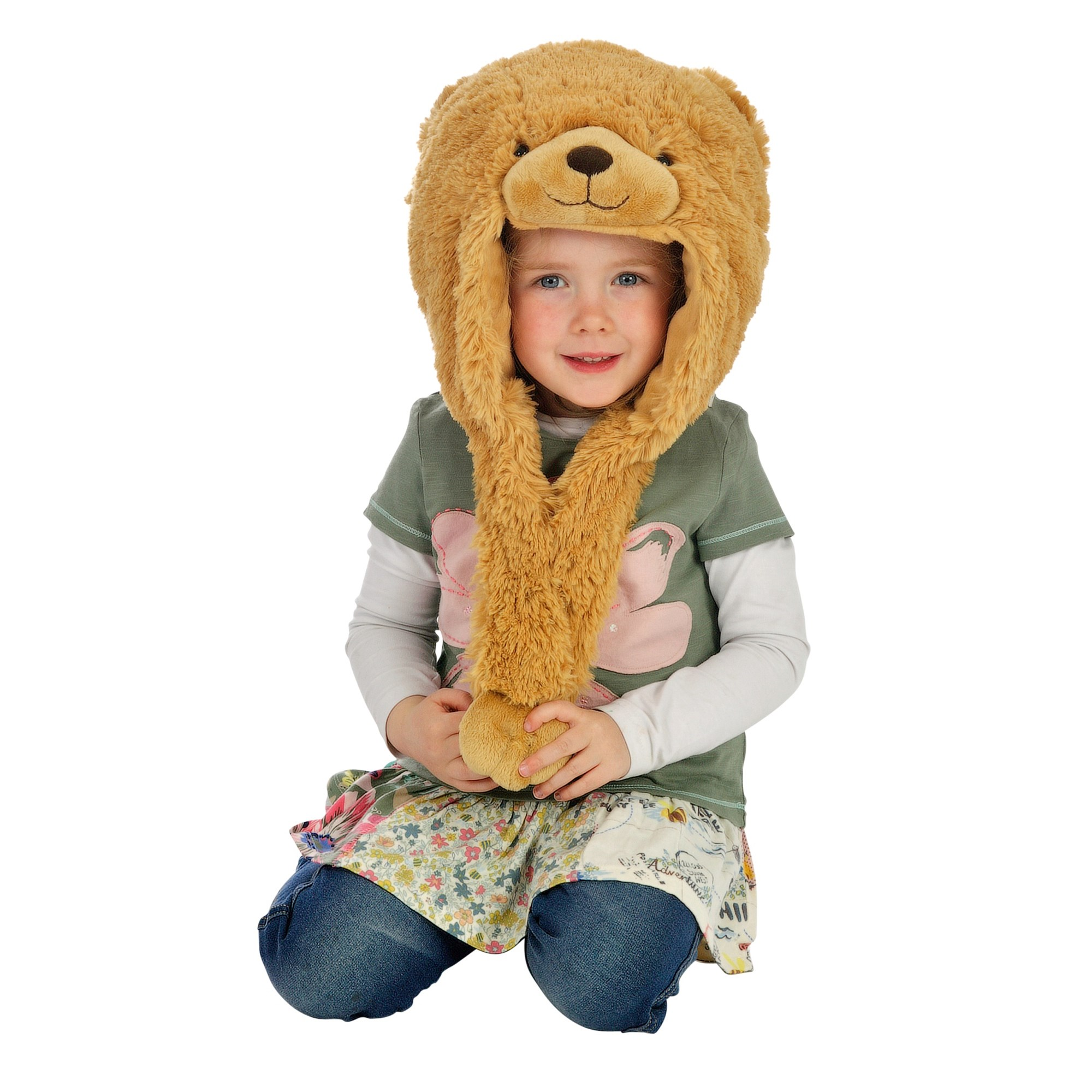 Animal Hat  Brown Bear