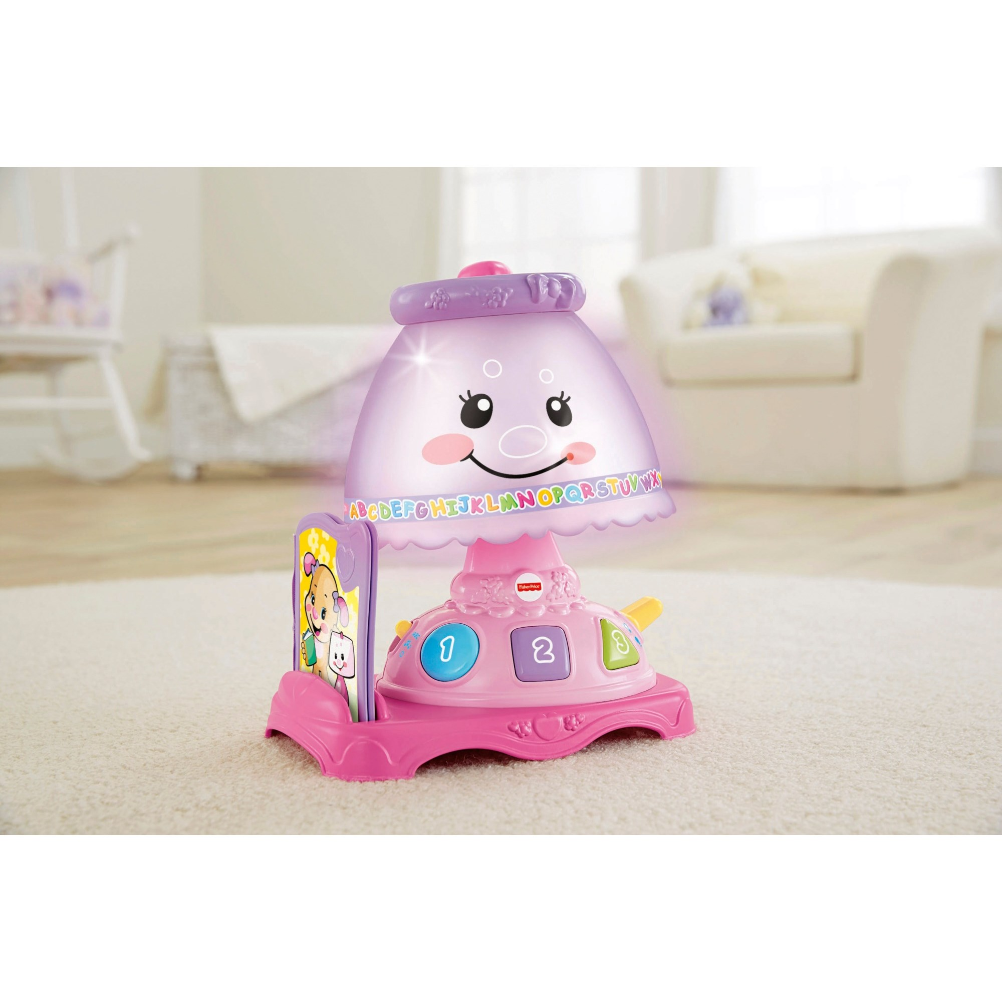 Fisher Price Laugh & Learn My Pretty Learning Lamp