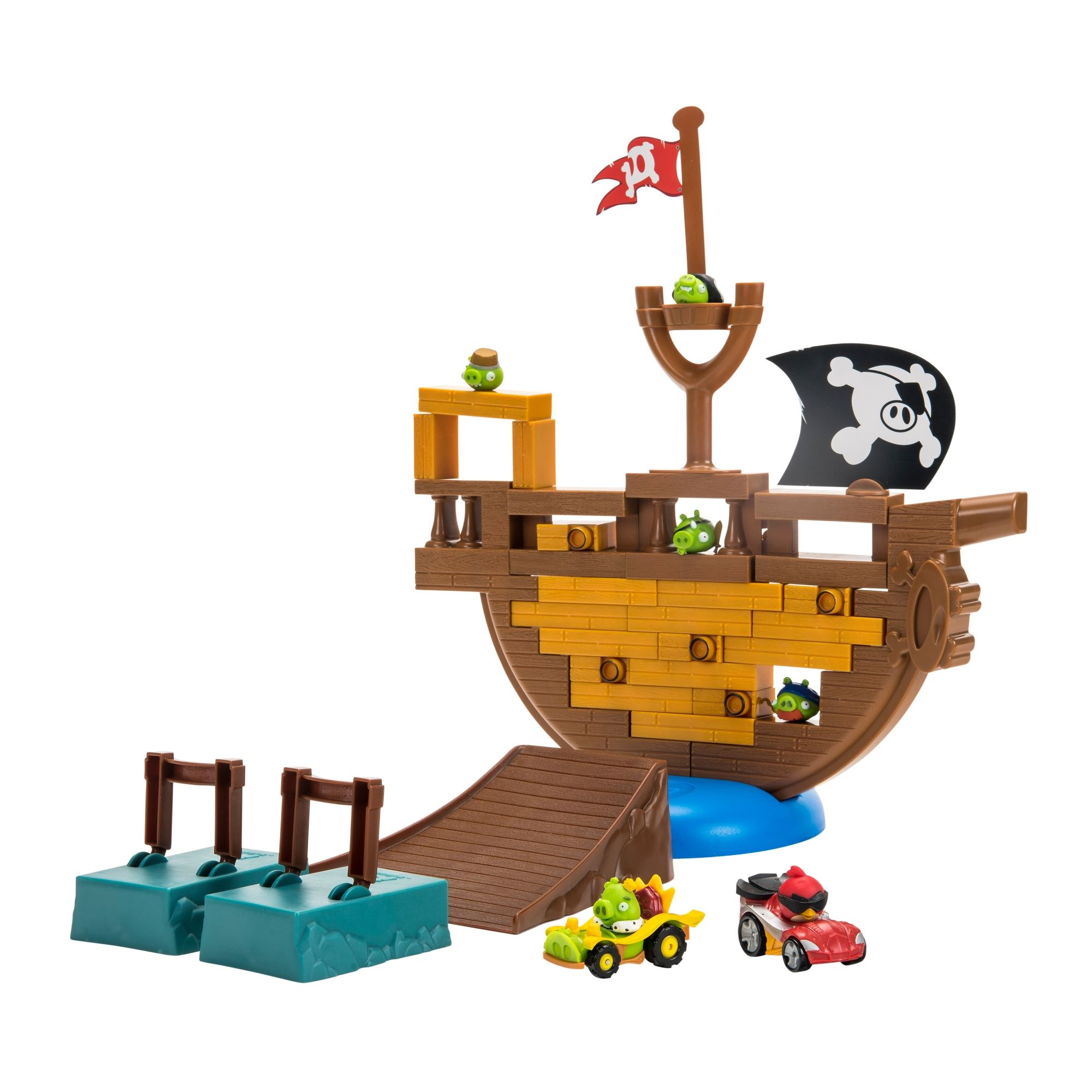 Angry Birds GO! Pirate Pig Attack Game
