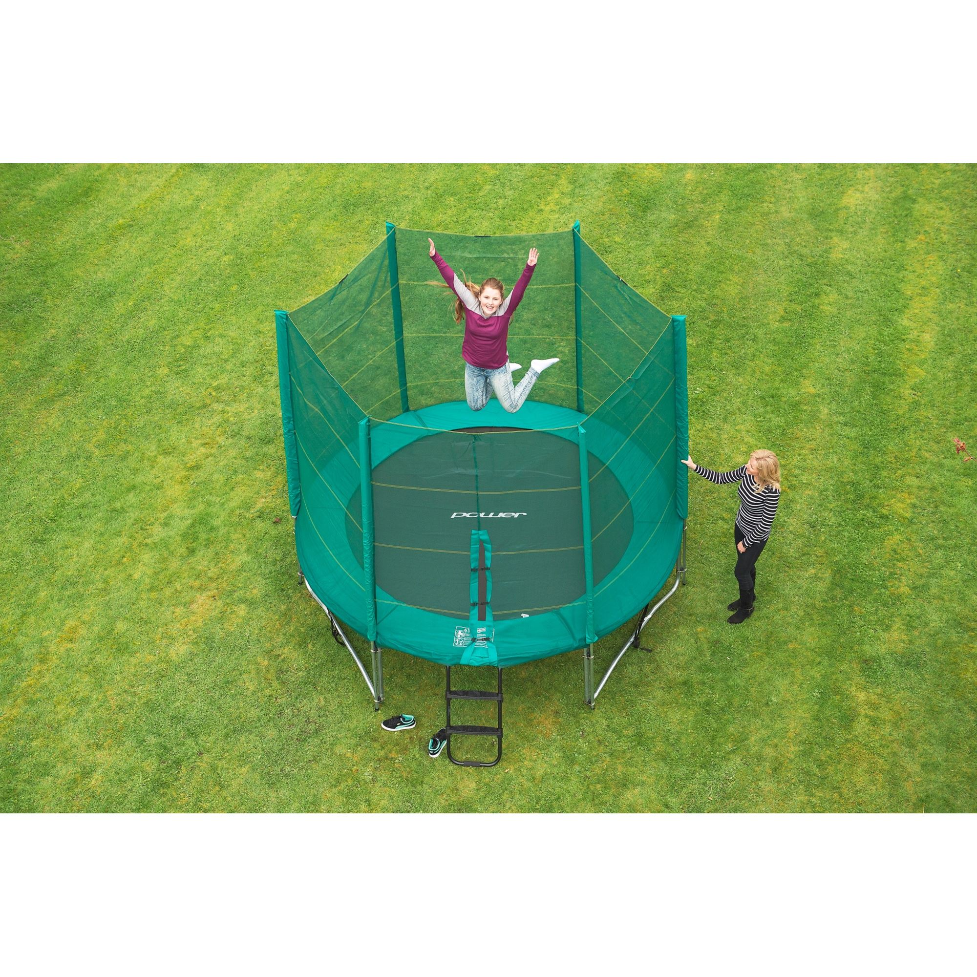 10ft Trampoline and Enclosure