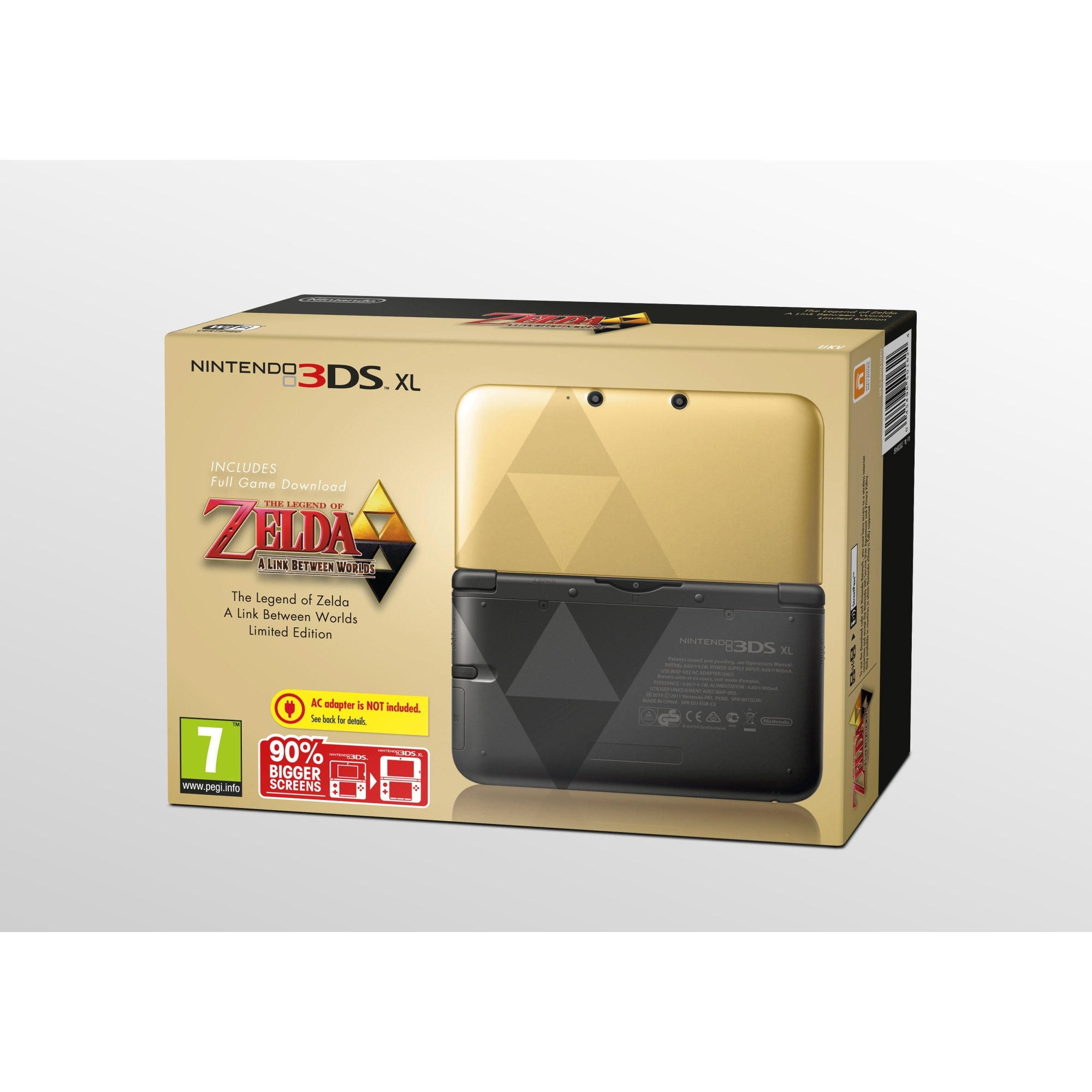 Nintendo 3DS XL Black Zelda Link Between 3DS XL
